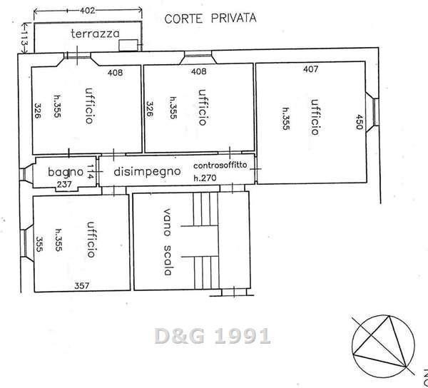 ufficio affitto grosseto centrale